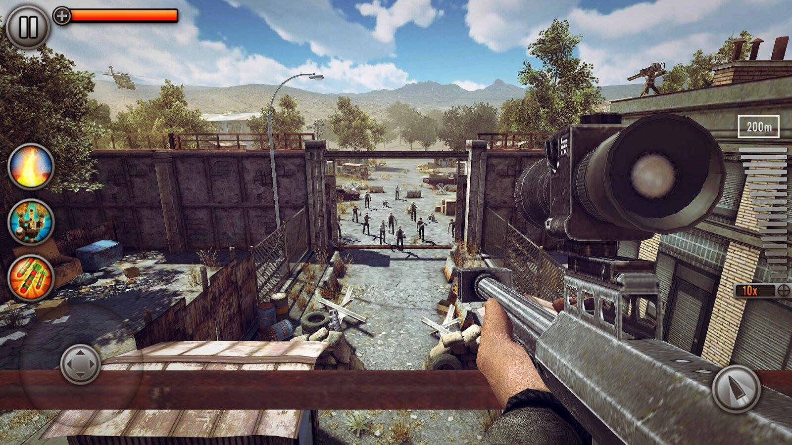 last hope sniper zombie war много денег
