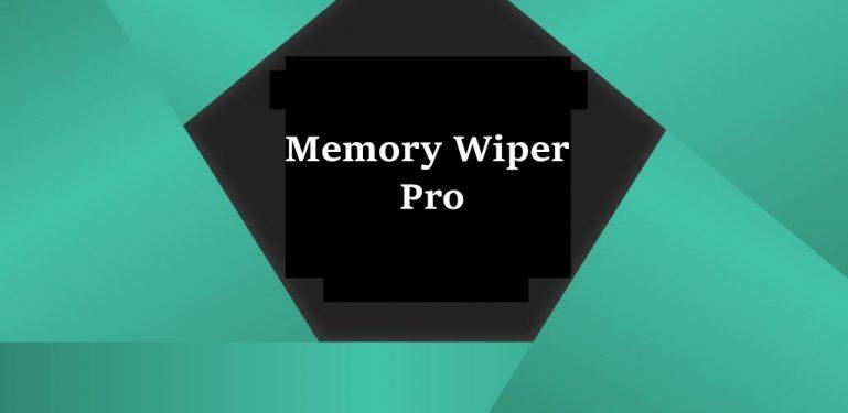 Memory Wiper Pro