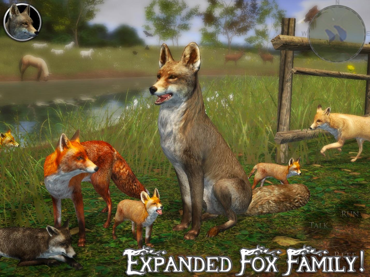 ultimate fox simulator 2 скачать