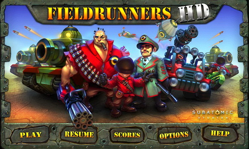 Fieldrunners для Android