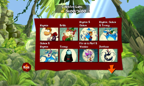 Rayman Jungle Run геймплей