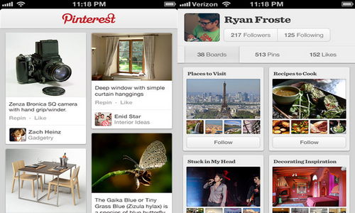 Pinterest просмотр фото