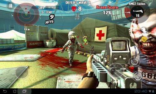 DEAD TRIGGER скриншот