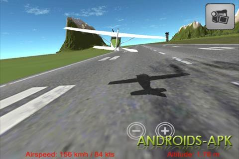 Flight Simulator на Android