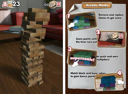 Jenga android gameplay