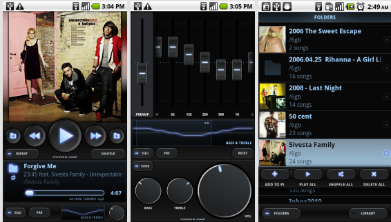 Poweramp скриншот 2