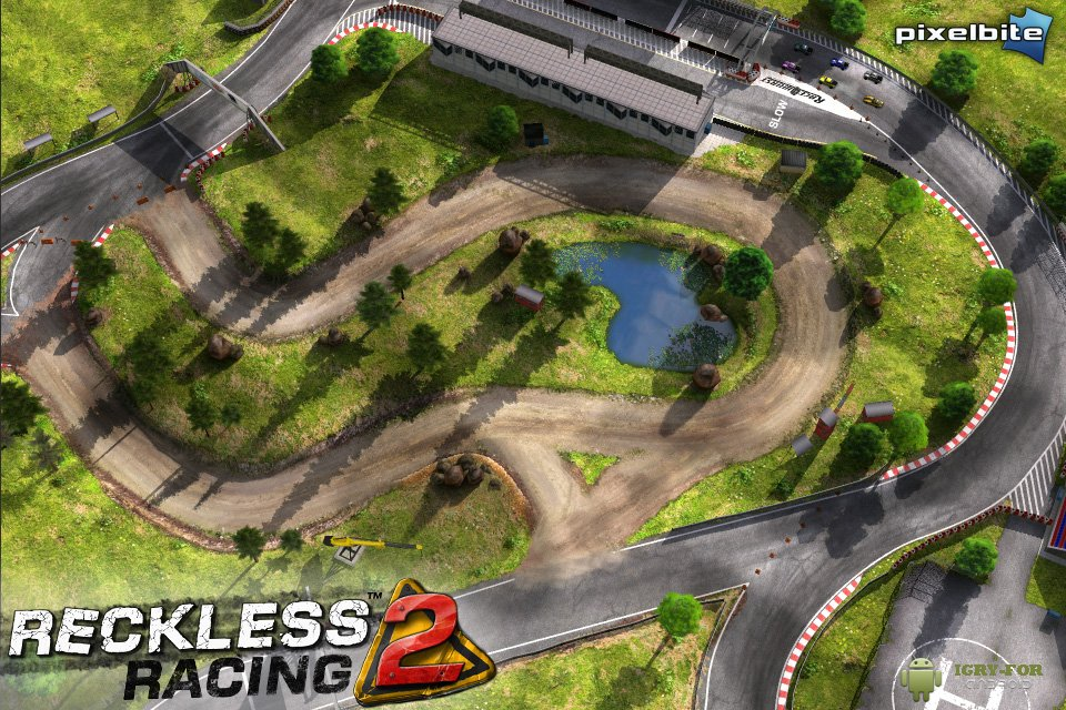 Reckless Racing 2 гоноки на android - PDAlife ru