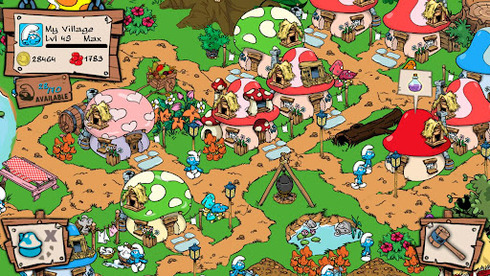 Smurfs' village Android 4