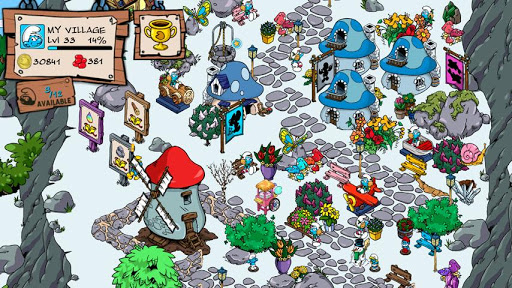 Smurfs' village Android 5