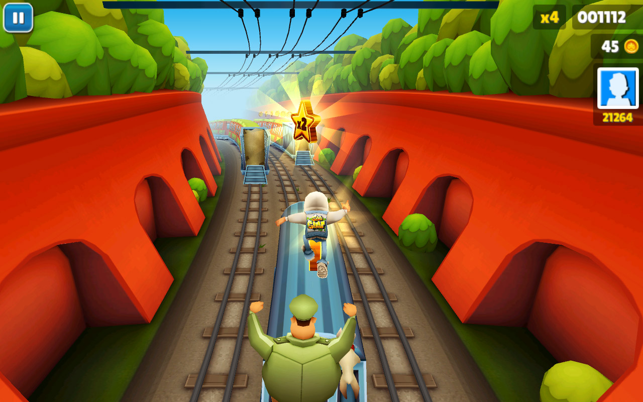 Subway Surfers скриншот