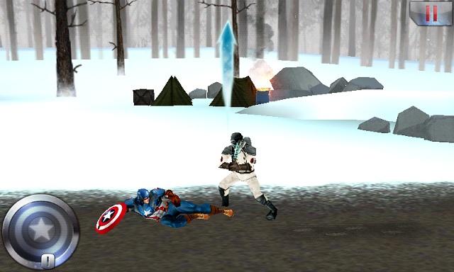 Captain America андроид