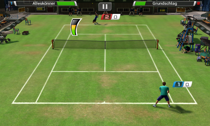 Virtua Tennis для Android