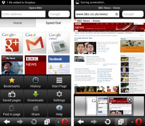Opera Mini Android 2