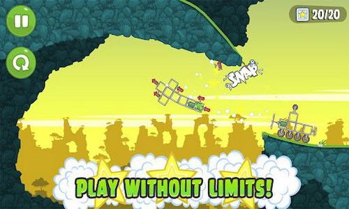 Bad Piggies Android геймплей