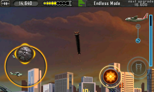Death Worm геймплей