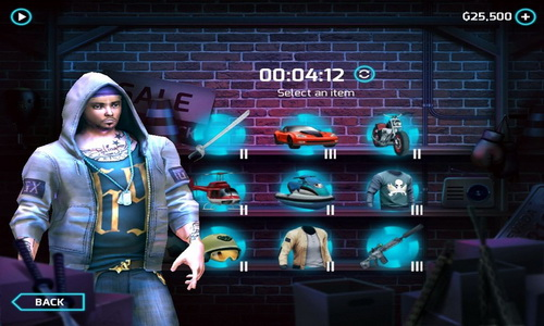Gangstar Vegas Android настройки