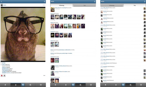 Instagram Android скриншот