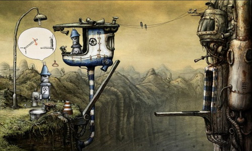 Machinarium Android скриншот