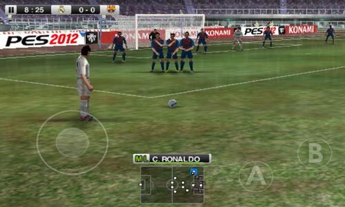 PES 2012 Pro Evolution Soccer Android игровой процесс