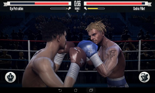 Real Boxing Android геймплей