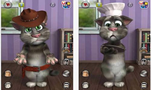 Talking Tom Cat 2 для Android скриншот