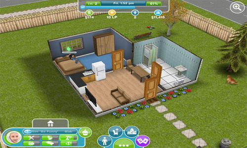 The Sims FreePlay Android дом