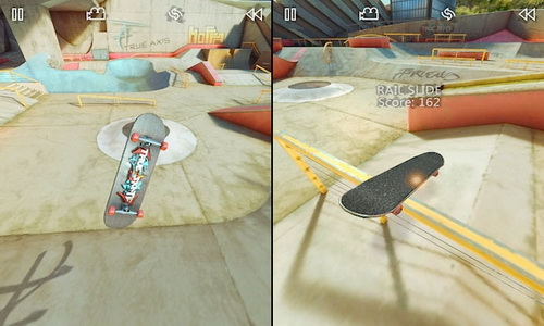 True Skate Android геймплей
