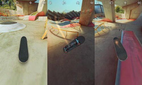 True Skate Android игровой процесс