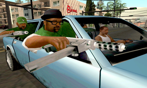 Grand Theft Auto San Andreas для Android