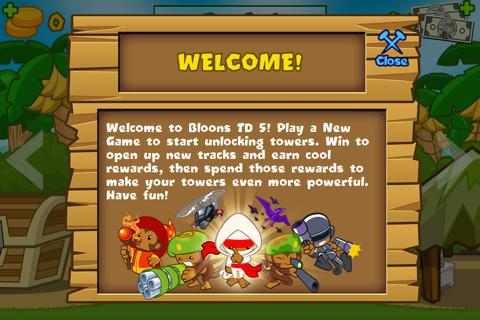Bloons TD 5.4