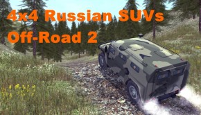 4x4 Russian SUVs Off-Road 2