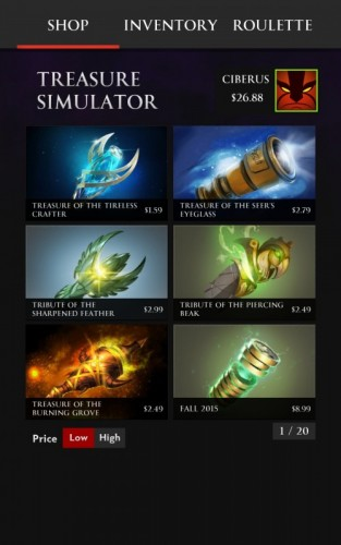Treasure Simulator Dota 2_1