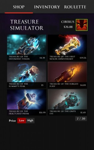 Treasure Simulator Dota 2_4