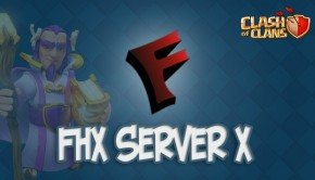 FHX сервер для Clash of Clans