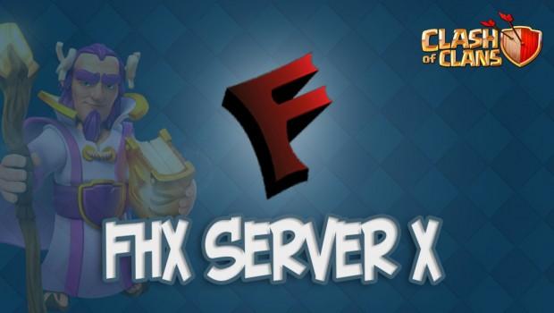 FHX сервер для Clash of Clans